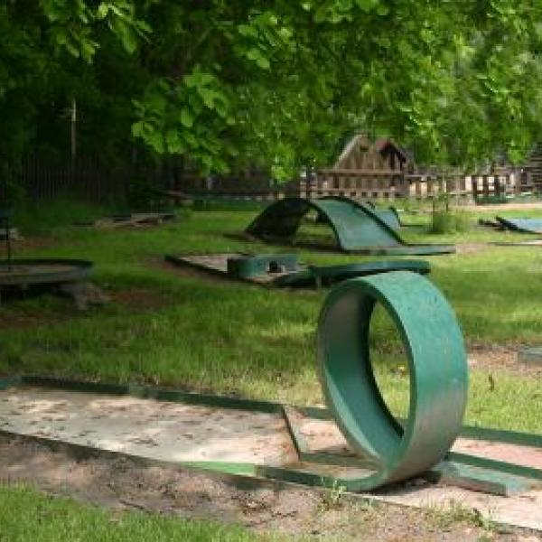 Minigolf, autor: Camp Sedmihorky