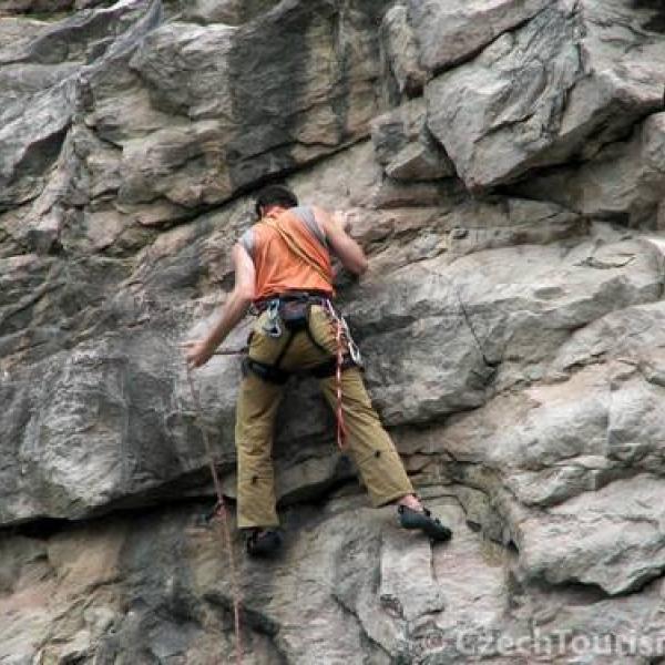horolezectví v Krkonoších
