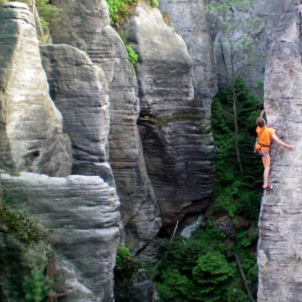 lezení, autor: Václav Novotný