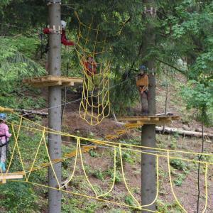 Lanový park Rokytnice n. J., autor: Štěpán Heger