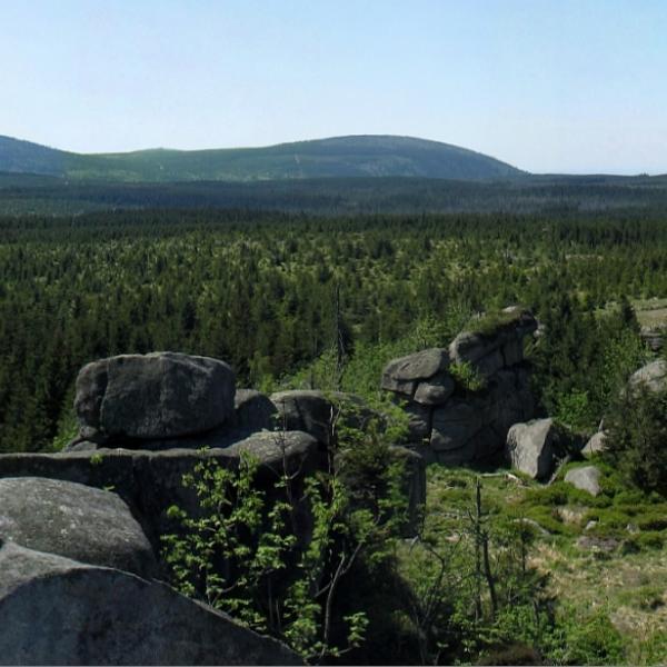 Jizerské hory - Pytlácké kameny