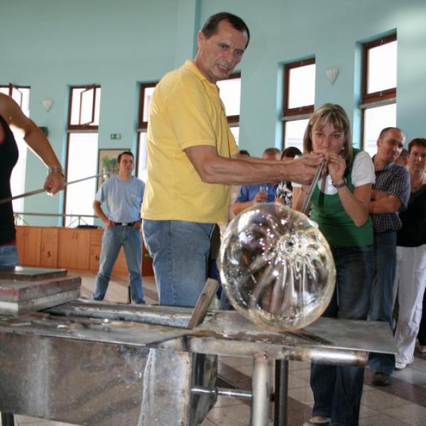 Sklárna Ajeto - exkurze, autor: AJETO Czech Glass Craft s.r.o.