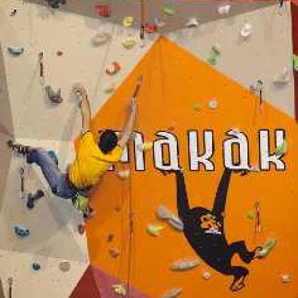 Makak climbing