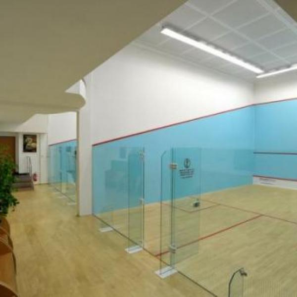 Sportovní areál Břízky - squash, author: SA Břízky