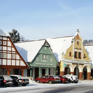 Čtyři historické domky, Vrchlabí, autor: archiv správy KRNAP