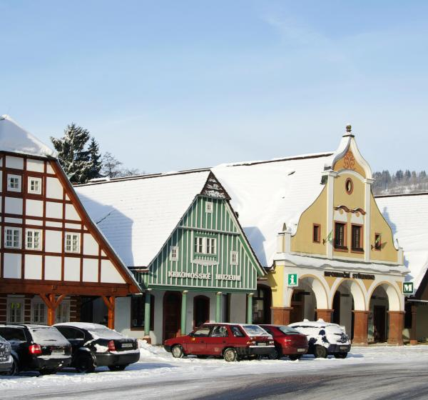 Krkonošské muzeum Vrchlabí - Čtyři historické domky