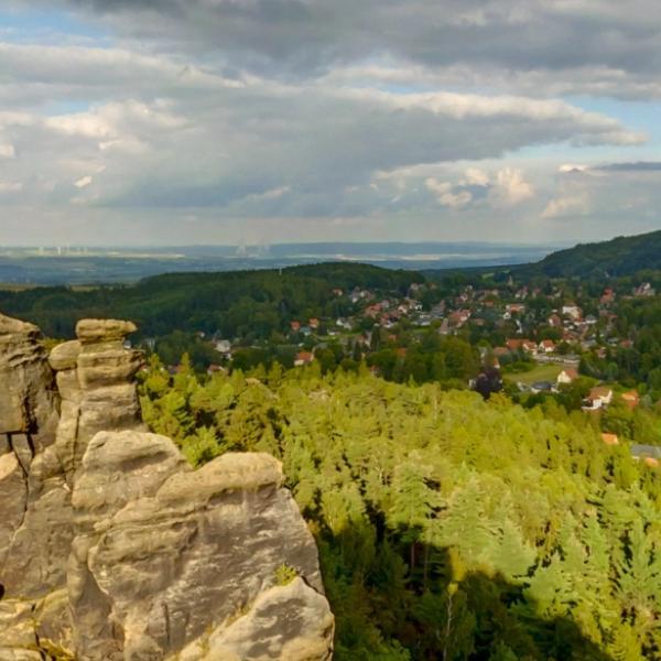 Zittauer Gebirge - Jeptišky