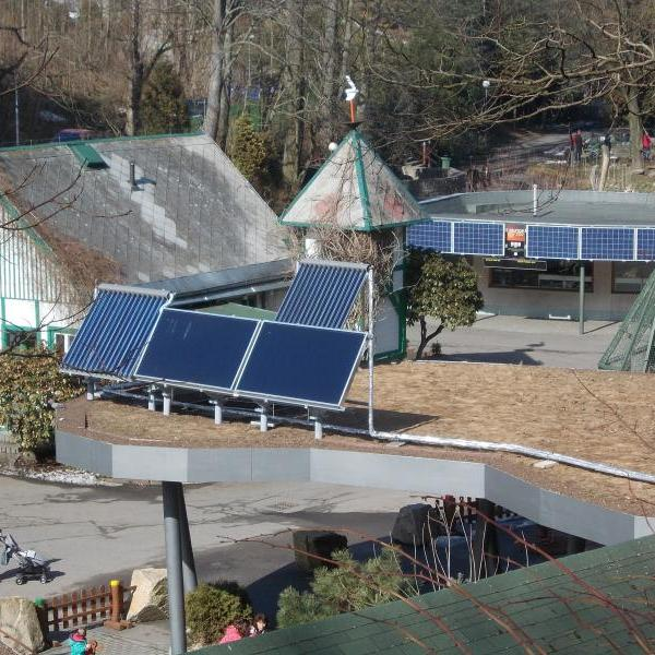 Fotovoltaické články ke stezce Slunce