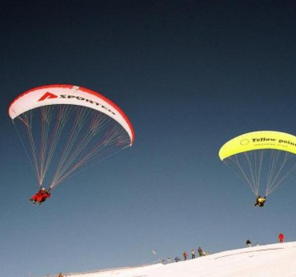 Paragliding - Yellow Point