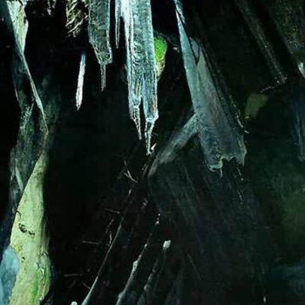 Ledová jeskyně Naděje