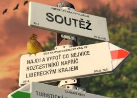 Upoutávka - Najdi a vyfoť co nejvíce rozcestníků napříč Libereckým krajem