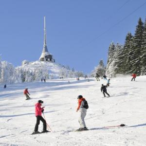 Ski areál Ještěd / sjezdovka F 10, autor: Šimon Pikous