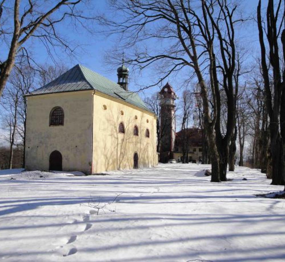 Zimní romantika na vrchu Tábor, author: Sdružení pro záchranu hradu Kumburku