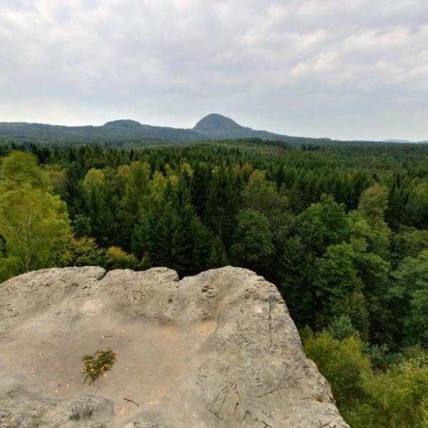 Borský vrch   Vyhlídka Jelení skok