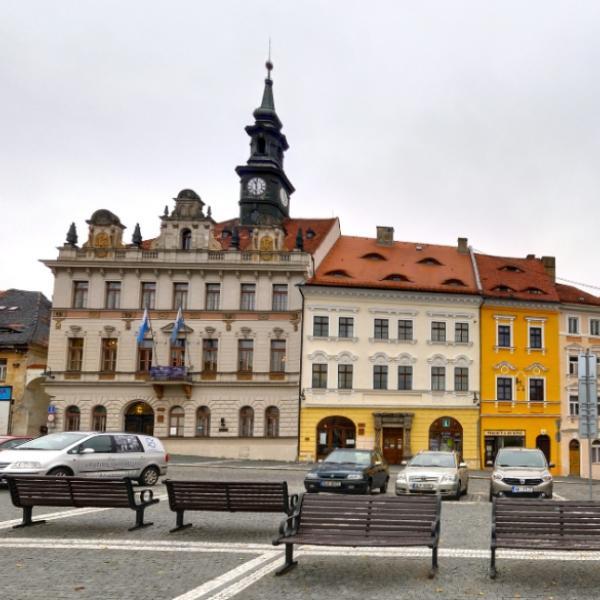 Česká Lípa   náměstí T  G  Masaryka