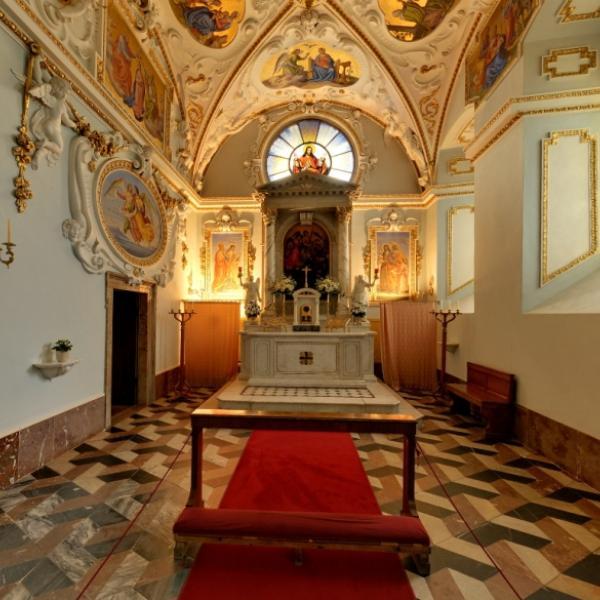 Zákupy   Kaple sv  Anny a sv  Josefa