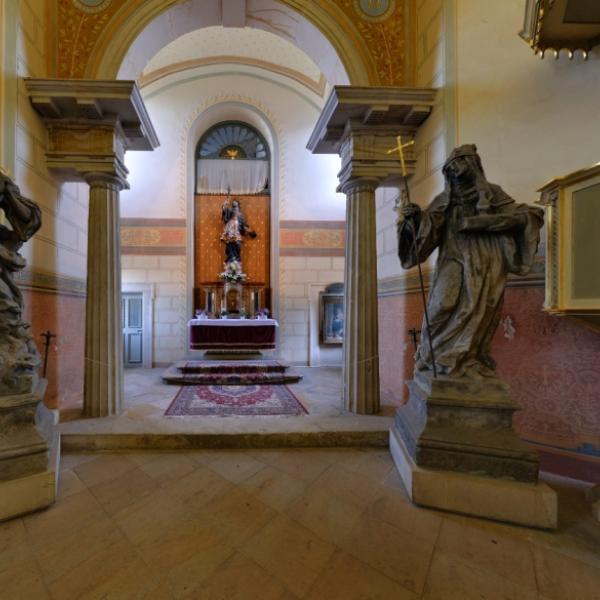 Hrad Valdštejn   interiér