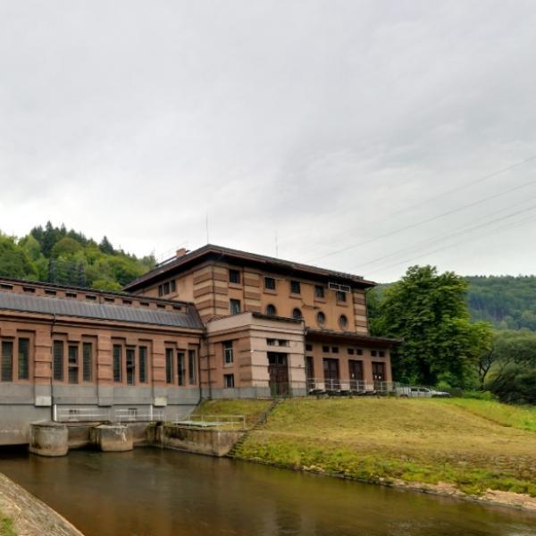 Spálov   Vodní elektrárna
