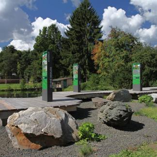 klášterní zahrada, geologie, autor: Krkonoše - svazek měst a obcí