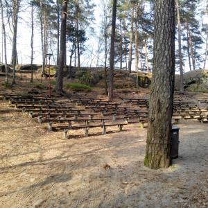 Lesní divadlo Sloup v Čechách, autor: Jana Nastoupilová