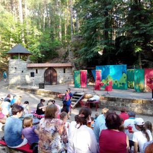 Letní pohádka v Lesním divadle, autor: Jana Nastoupilová