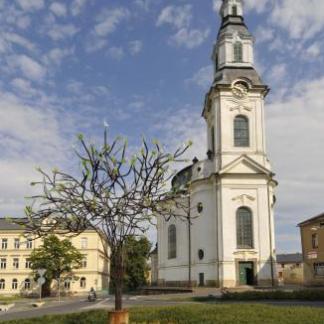 Kostel Nanebevzetí Panny Marie v Novém Boru, autor: Milan Drahoňovský