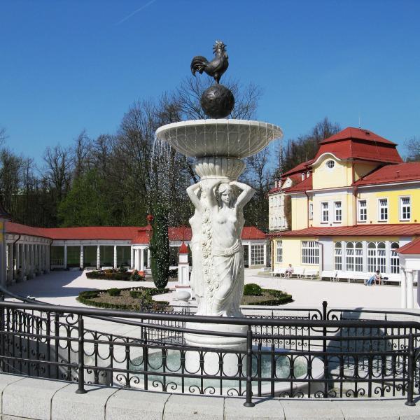 Kolonáda   fontána, autor: Lázně Libverda a.s.