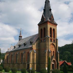 Kostel Nanebevzetí Panny Marie, autor: Bohdan Dvořák