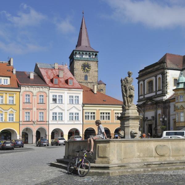 Valdštejnovo náměstí, Jičín, autor: archiv KHK