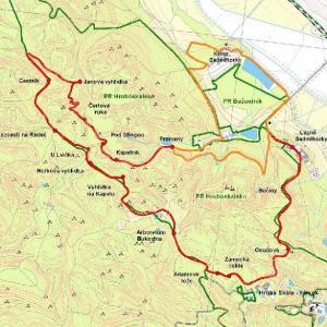 mapa NS Hruboskalsko
