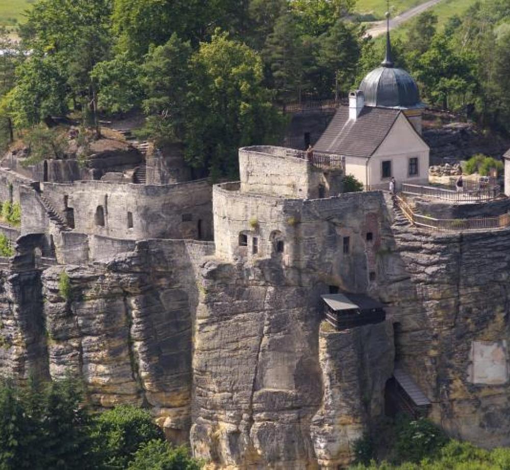 Skalní hrad Sloup v Čechách, autor: Milan Drahoňovský
