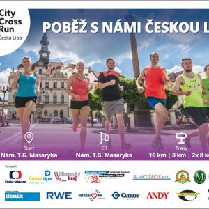 City cross run Česká Lípa, autor: Agentura Sportify