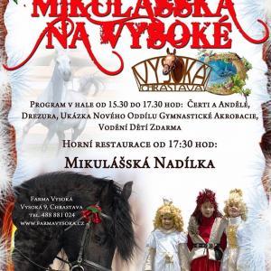 Mikulášská na Vysoké, autor: Farma Vysoká
