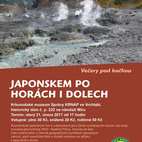 Japonskem po horách i dolech, autor: Správa KRNAP