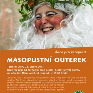 Masopustní outerek, autor: Správa KRNAP