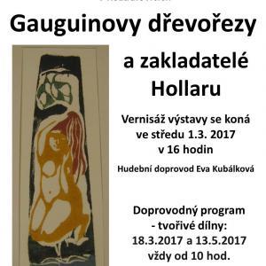Gauguinovy dřevořezy a zakladatelé Hollaru