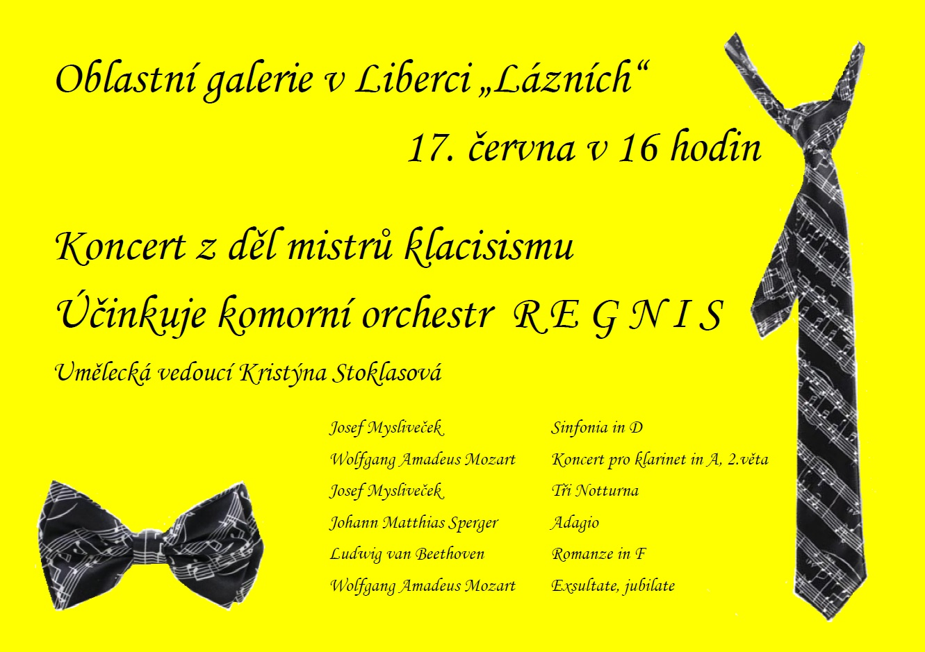 Komorn Orchestr Regnis Koncert Z Děl Mistrů Klasicismu