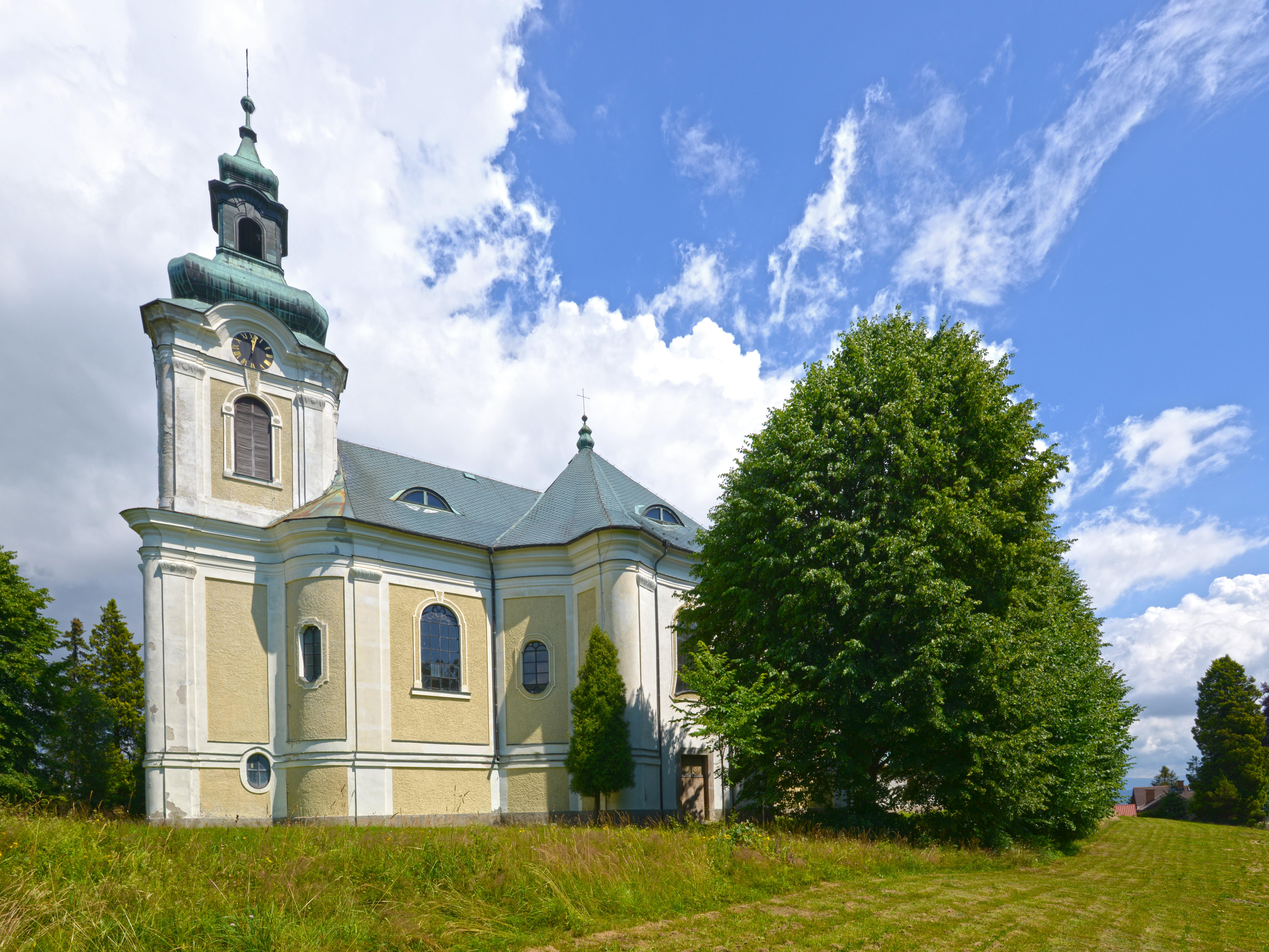 Smržovka - kostel sv. Archanděla Gabriela