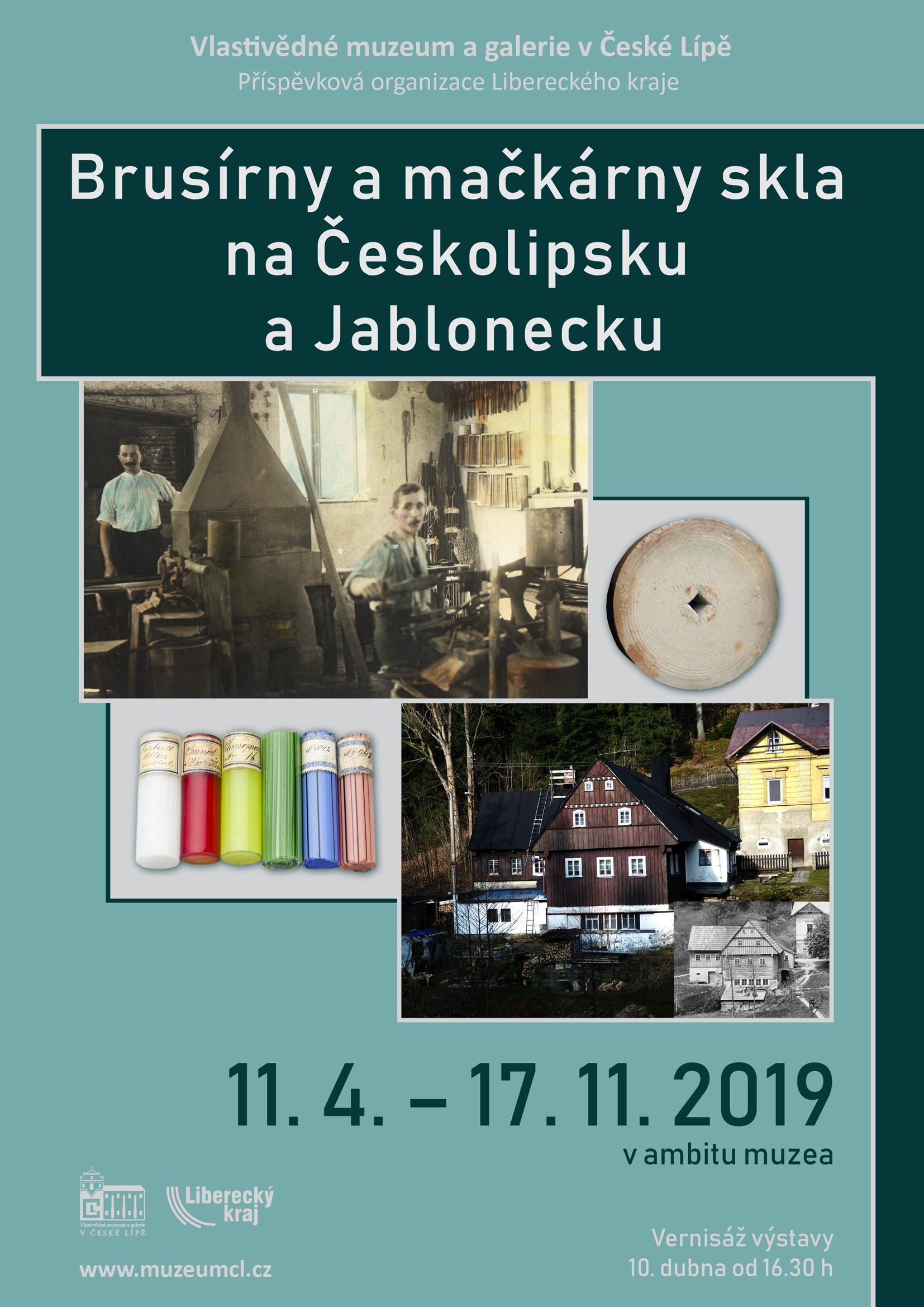 Obrázek v galerii pro Vlastivědné muzeum a galere Česká Lípa - Brusírny a mačkárny skla na Českolipsku a Jablonecku