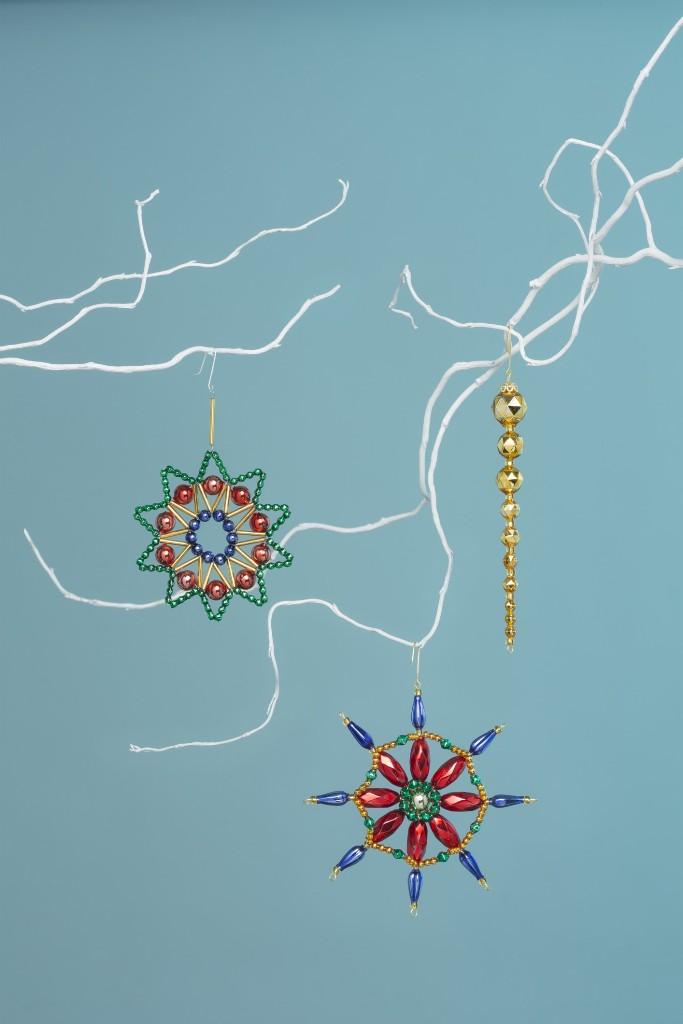 Obrázek v galerii pro Současné české vánoční ozdoby