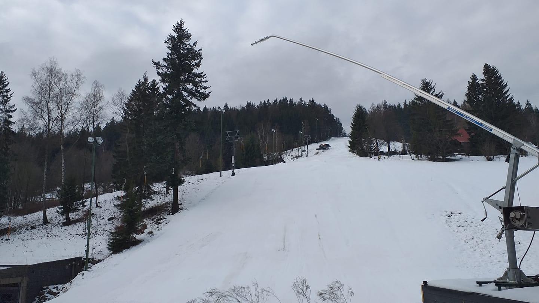 Ski areál Černá Říčka