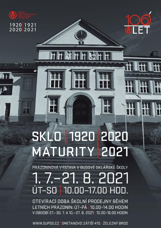 Obrázek v galerii pro Sklo / 1920 / 2020 – výstava
