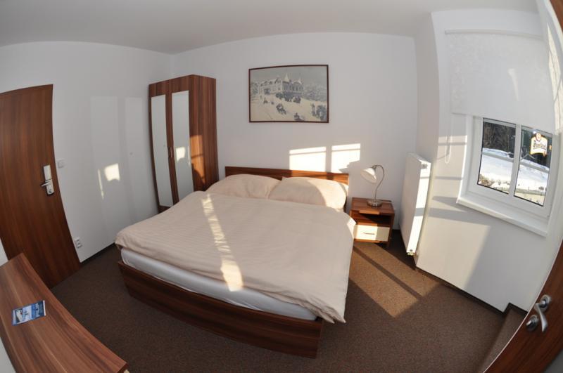 Parkhotel - Smržovka v Jizerských horách, ubytování