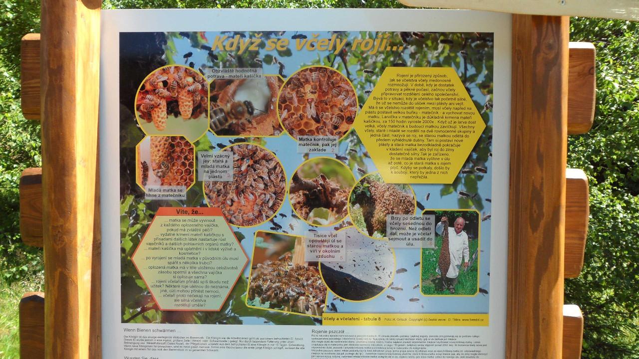 Včelí naučná stezka