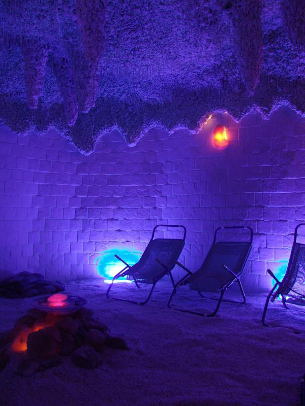 Solno-jodová jeskyně