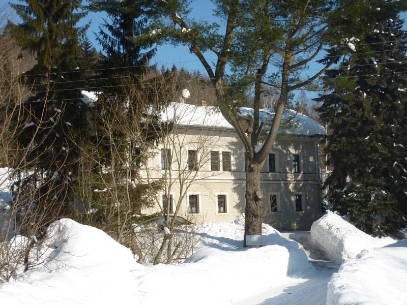 Chata Školačka v zimě