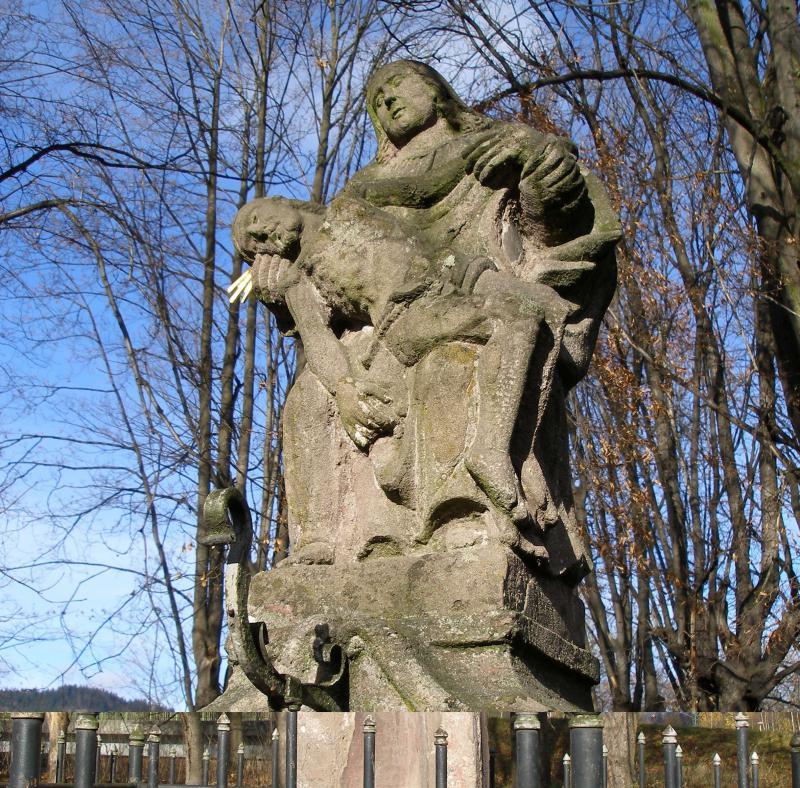 Pieta po restaurování