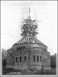 Stavba kaple v Dornbirnu