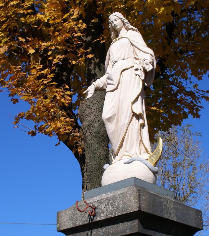 socha Panny Marie