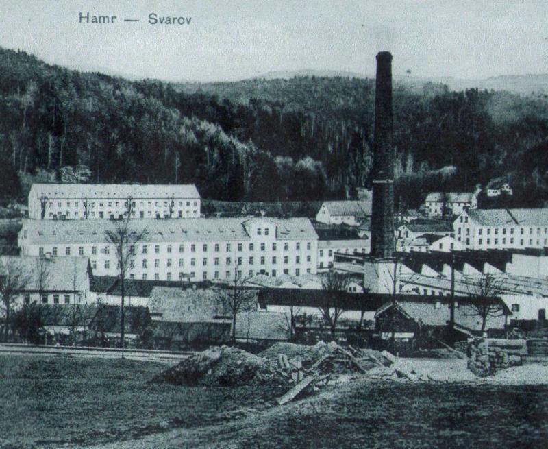 továrna na Svárově